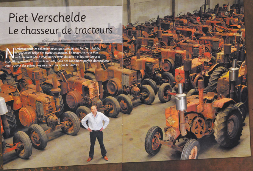 Piet Verschelde: The antique tractor hunter